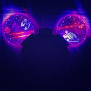 Disneypark Star Wars glow up headband